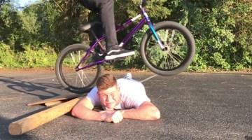 Scotty Cranmer First Jump Since Crash BMX video