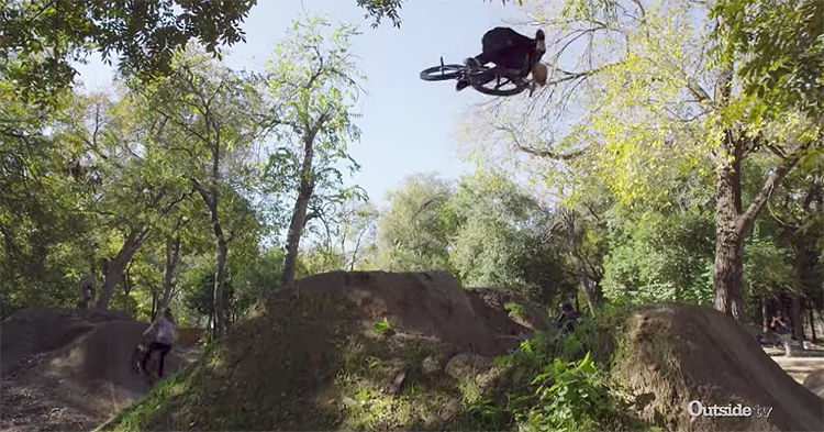 Chase Hawk and Cam McCaul Ride 9th Street Trails