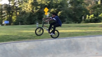 Brad Simms Back In Maryland BMX video
