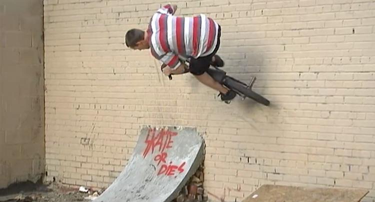 JIB Tape #4 Steve Tassone BMX video