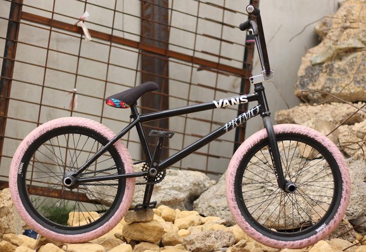 Federal Bikes Jordan Aleppo Bike Check BMX