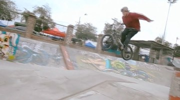 Pablo Castillo BMX video