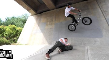 Scotty Cranmer BMX Trick Scavenger Hunt BMX video