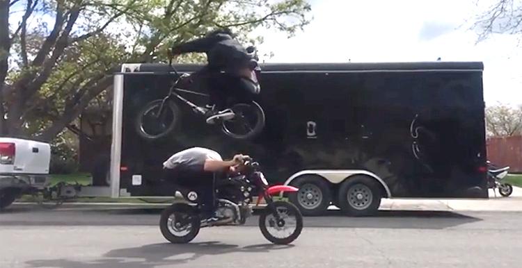 Brad Simms Instagram Compilation BMX video