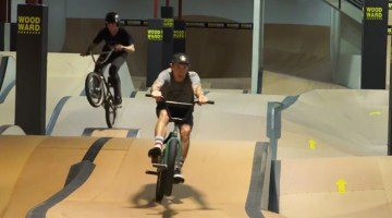 Chase Hawk Anthony Napolitan Woodward Riviera BMX video