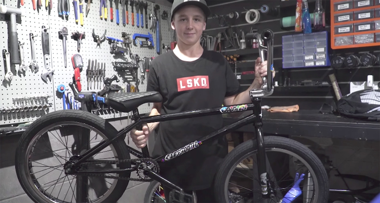Colony BMX – Josh Dove Sweet Tooth Bike Build