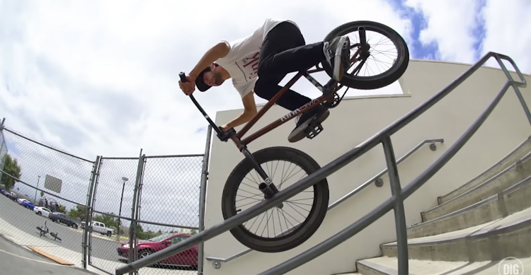 Kink BMX Mike Garcia Los Angeles