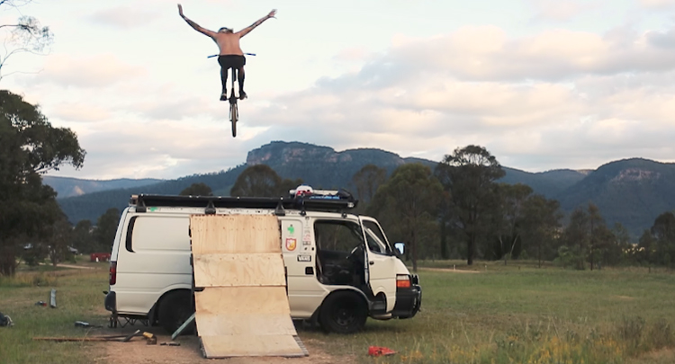 S&M Bikes Jonny Mackellar Welcome Video BMX