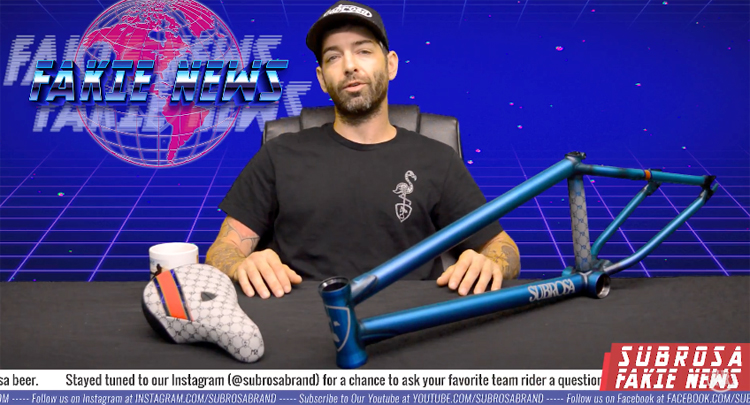 Subrossa Brand Fakie News 4 BMX video