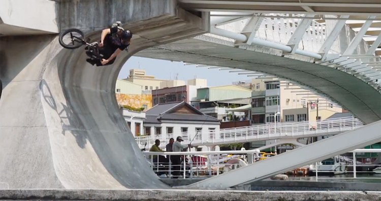 Sunday Bikes in Taiwan BMX Video