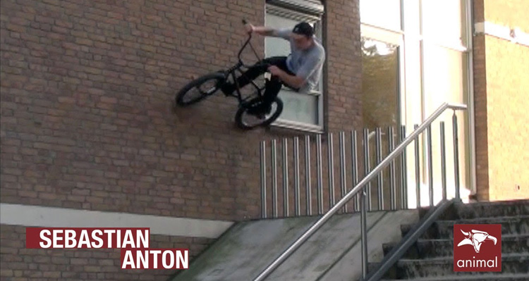 Animal Bikes – Sebastian Anton In The Streets of Germany