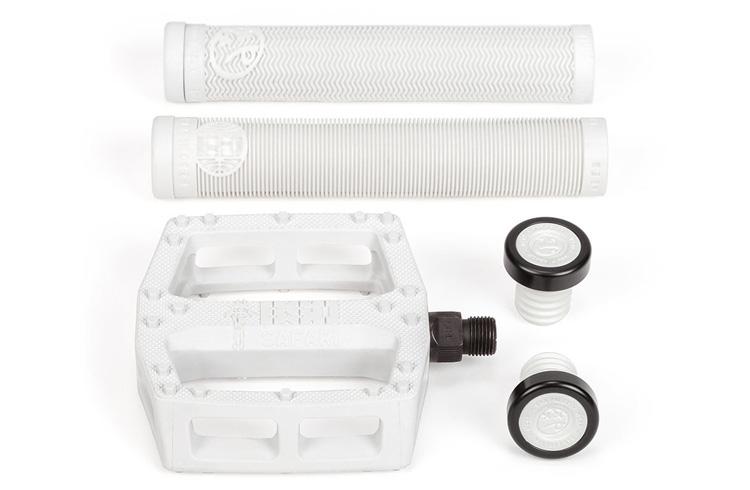 BSD BMX White and Gum BMX Parts