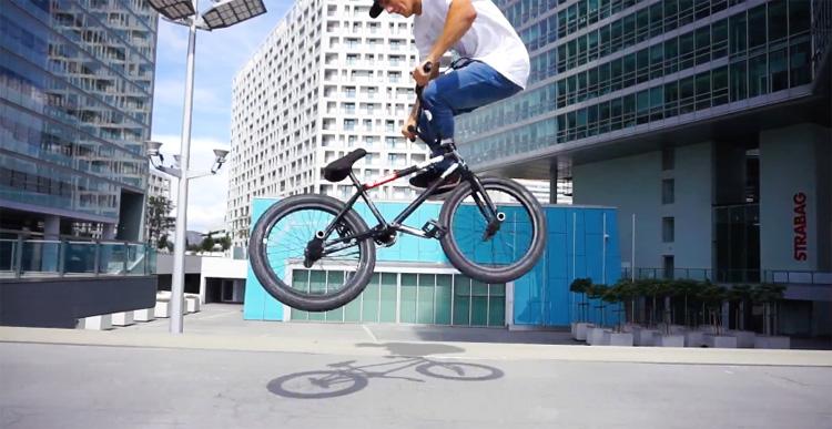 Jiri Blabol Tomas Carda Sosh Urban Motion 2017 Wildcard BMX Video