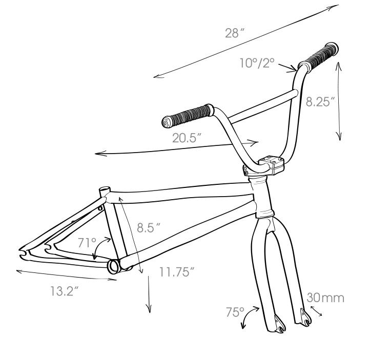 Flybikes 2018 Electron Complete BMX Bike