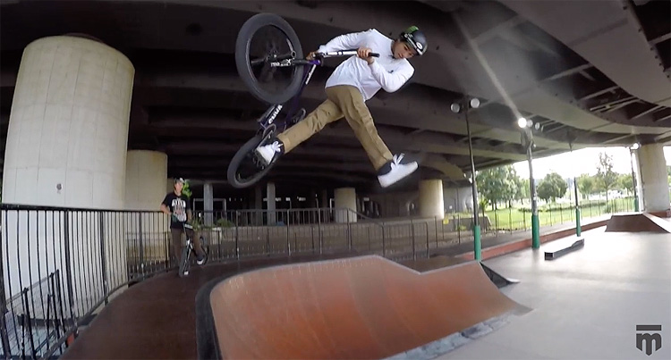 Mongoose BMX - How To Can-Can with Kevin Peraza