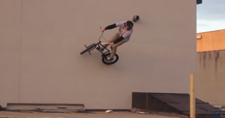 Merritt BMX Justin Seiller and Zack Henderson BMX video