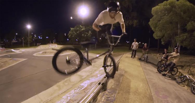 Colony BMX – Alex Hiam at Woodridge Park