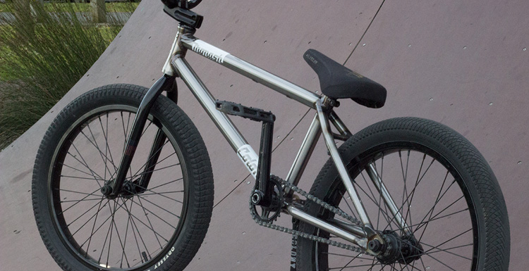 Colony BMX – Liam Marshall Bike Check