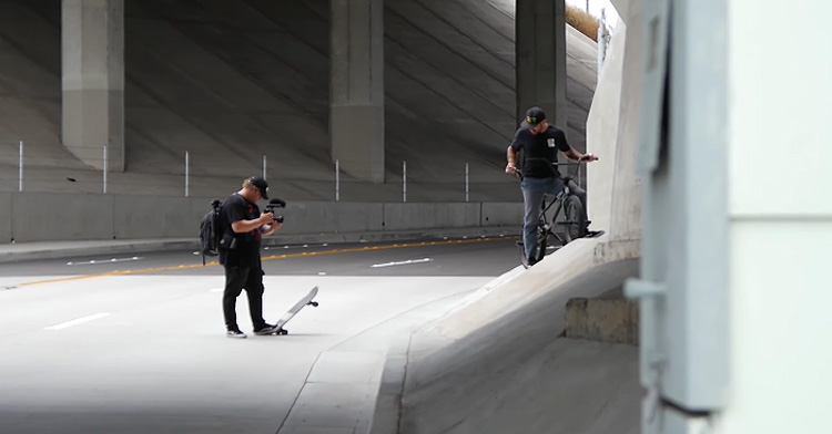 Veesh Secrete To Making BMX videos