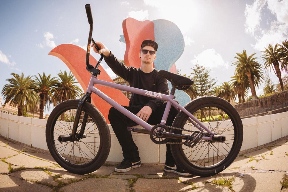 Sam Jones BMX Bike Check BSD ALVX