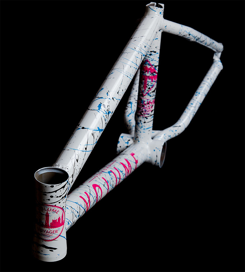 Volume Bikes Voyager BMX Frame White