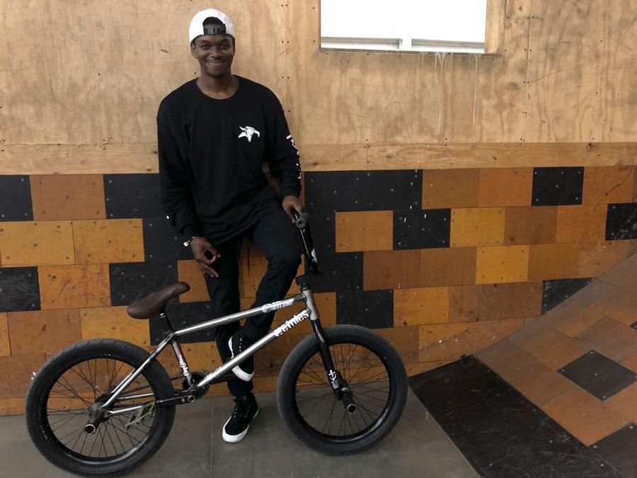 Volume Bikes Demarcus Paul Bike Check BMX