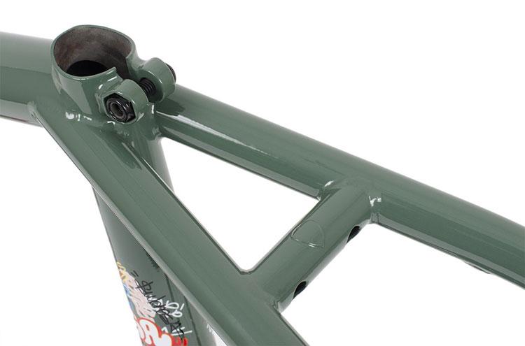 Subrosa Brand Simo Frame Simone Barraco BMX