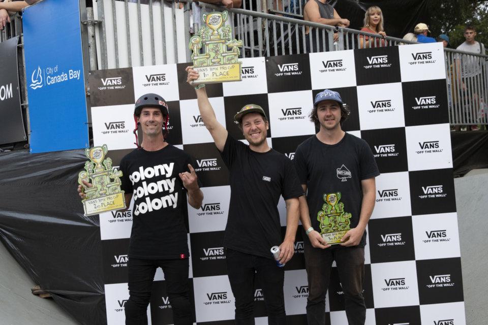 Vans BMX Pro Cup 2019 Australia Results Mens