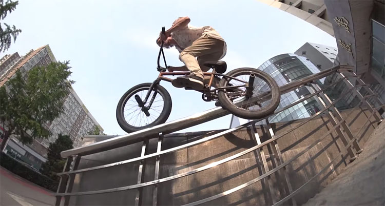 China Tales Crowded Places Sweaty Faces BMX video