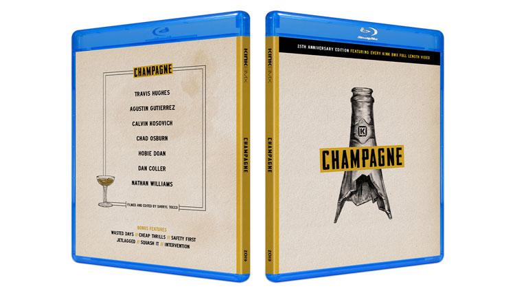 Kink BMX Champagne Blu-Ray