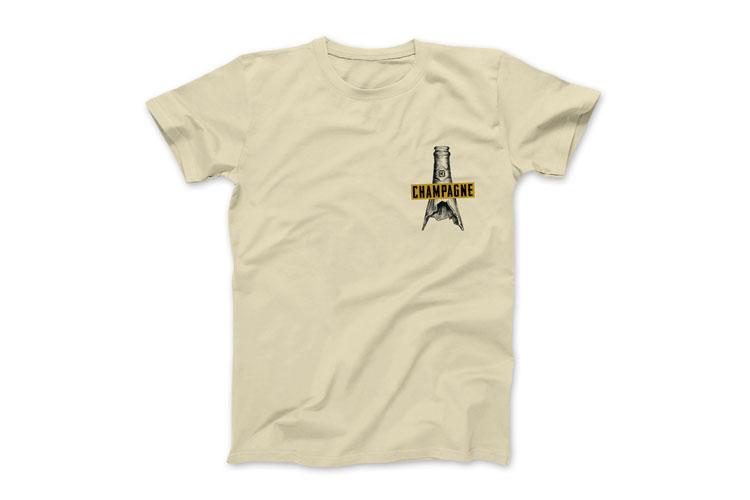 Kink BMX Champagne DVD BMX shirt