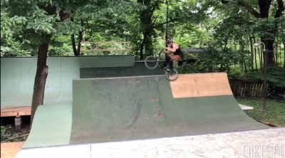 Chris Field If you Build It They Will Shred BMX video