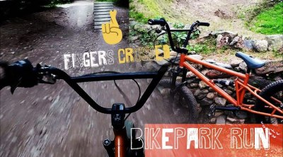 Fingers Crossed Full Suspension BMX bike