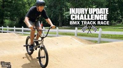 Scotty Cranmer Injury Update BMX video