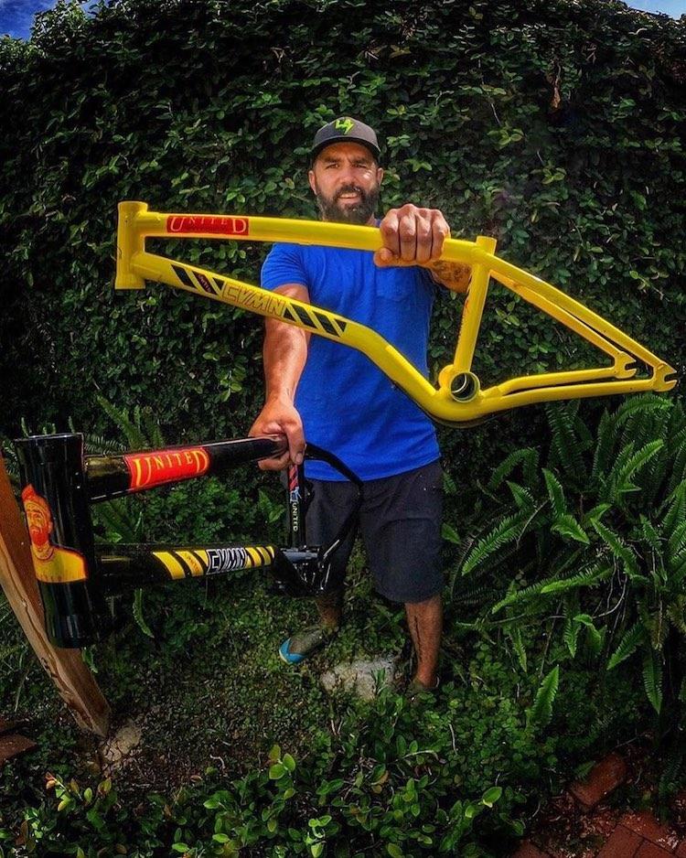 United BMX Caveman V2 Frame