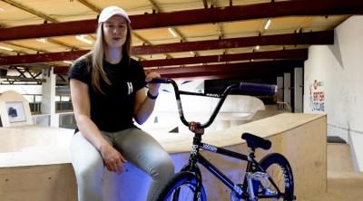 Charlotte Worthington Video Bike Check BMX