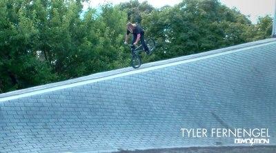 Demolition Parts Tyler Fernengel Michigan BMX video