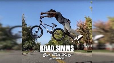 Fit Bike Co Brad Simms Best Biker 2020 BMX