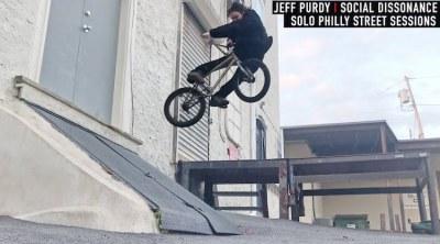 Jeff Purdy Social Dissonance BMX video