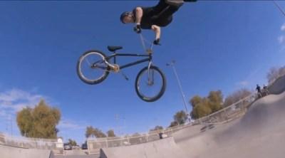 Daniel Sandoval and Jacob Thiem Chandler Skatepark Free Agent BMX