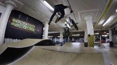 Joel Sutton Mikes Bike Park BMX video