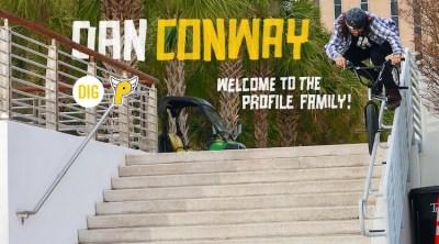 Dan Conway Profile Racing Welcome BMX video