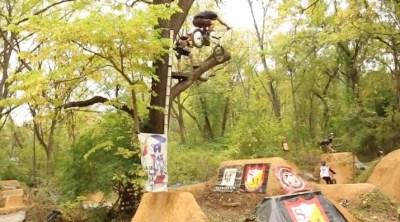 PA Woods 2020 BMX video