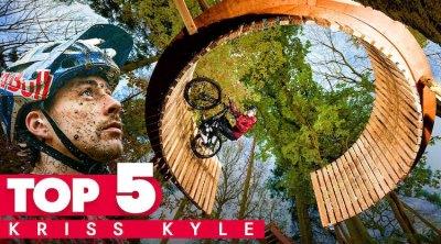 Red Bull Kriss Kyle Top 5 videos BMX MTB