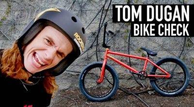 Tom Dugan Video Bike Check BMX