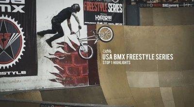 USA BMX Freestyle 2021 Stop 1 Video
