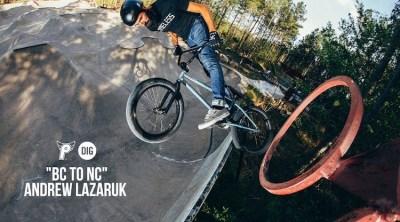 Profile Racing Andrew Lazaruk North Carolina BMX