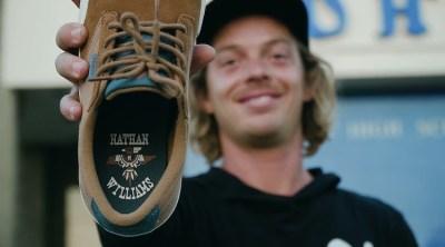 Etnies Nathan Williams Signature Shoe Promo BMX video