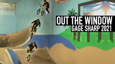 Gage Sharp Out The Window BMX video