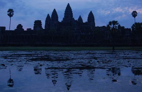 Angkor Wat at sunrise - Cambodia Tours